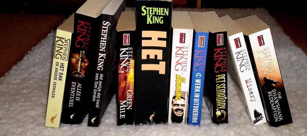 Stephan King boeken