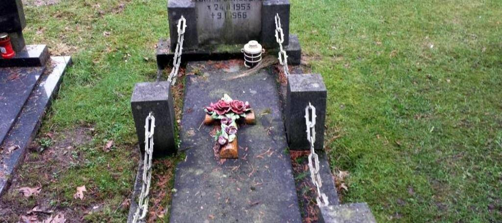 De oude begraafplaats