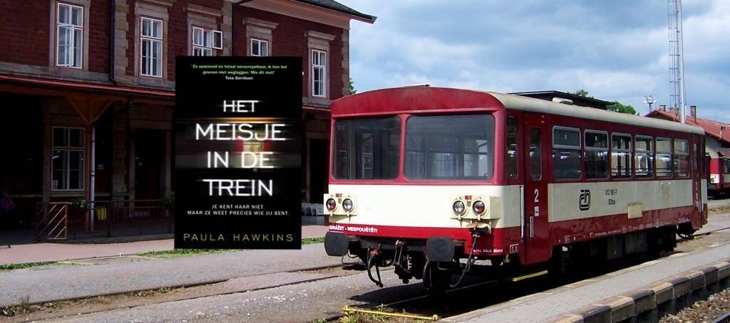 Meisje in de trein